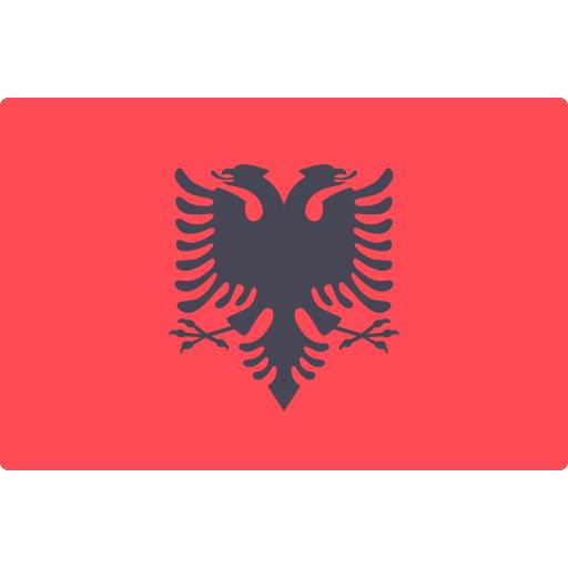 Albanien Fahne